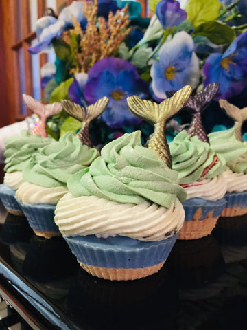 Hazy Shores Mermaid Soap Cupcake