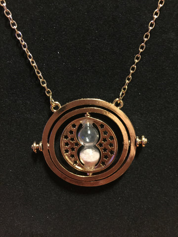 Time turner style necklace
