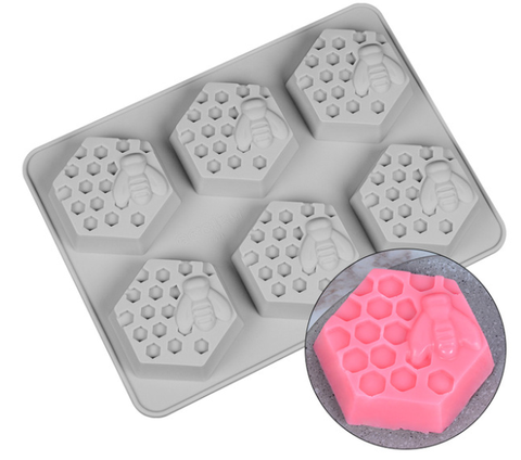 Honeycomb Bee Soap Mold