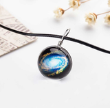 Galaxy Marble Necklace