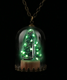 Christmas Tree Glow Necklace