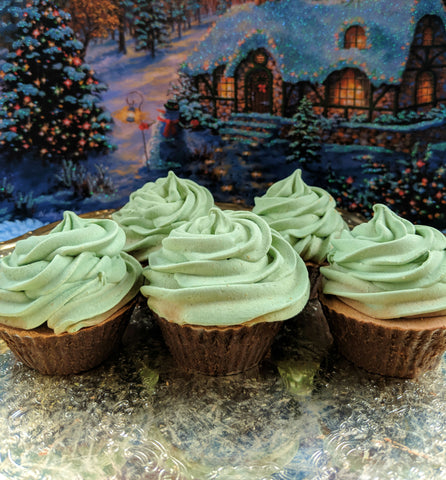 Minty Chocolate Soap Cupcake
