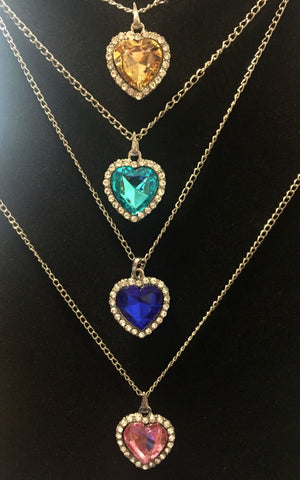 Heart of the Ocean type necklace