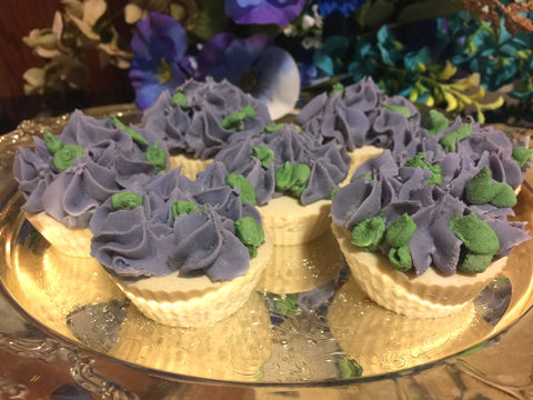 Juicy Orchid Soap Cupcake