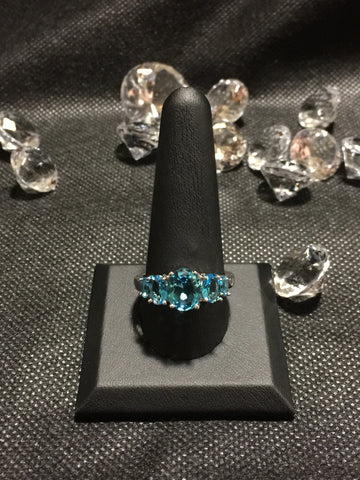 Blue Topaz type ring