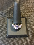 Purple Topaz type ring