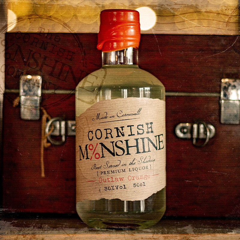 50cl Cornish Moonshine 'Outlaw Orange' (30% Vol)
