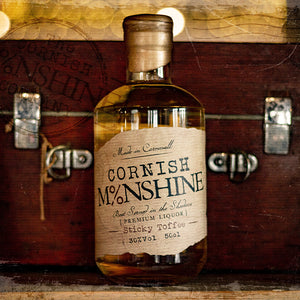 50cl Cornish Moonshine 'Sticky Toffee' (30% Vol)