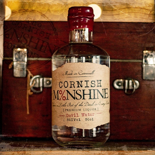 50cl Cornish Moonshine 'Devil Water' (50% Vol)