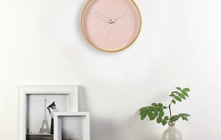 5 Wall Clocks for Spring / Summer