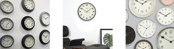 Jones Clocks wall clock display