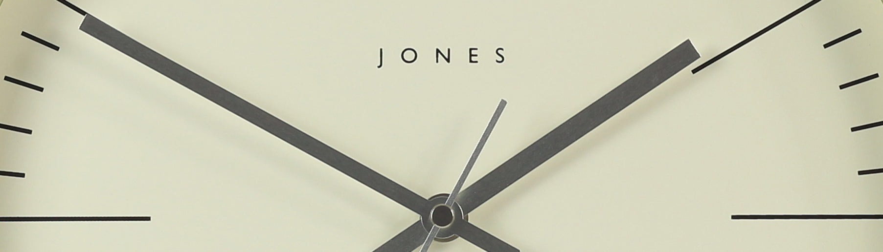 Jones Clocks. I f you have any queries we're happy to help.