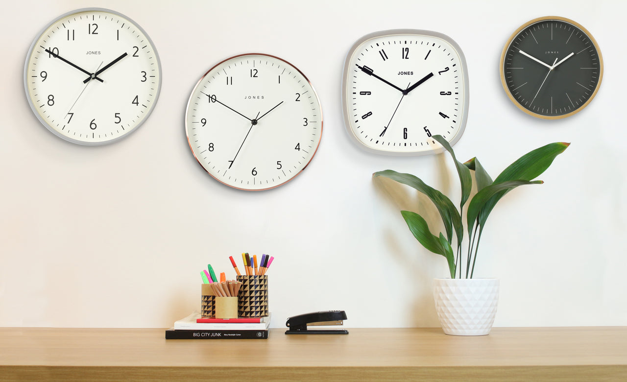 Jones Clocks | Modern & Classic Wall Clocks