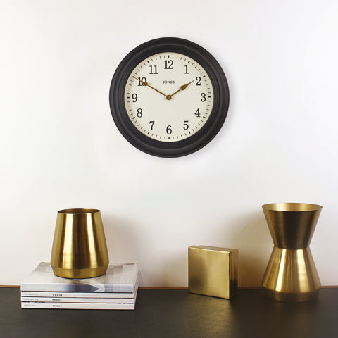 Navy Midnight Blue Wall Clock | Jones Clocks