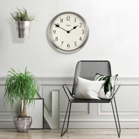 oversized wall clock for masterbedroom Giant Savoy clock by Jones clocks