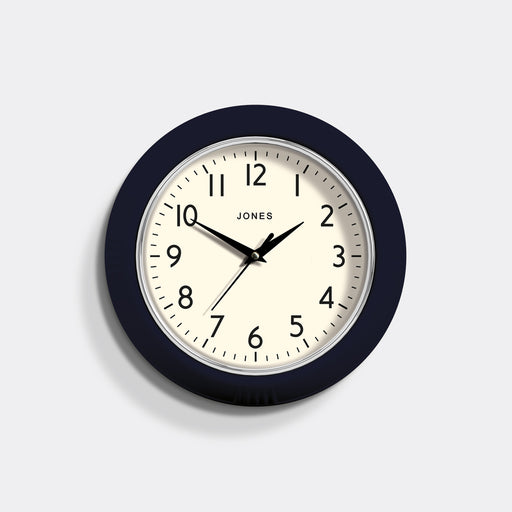 Small Retro Wall Clock | Blue | Jones Clocks | Ketchup 223