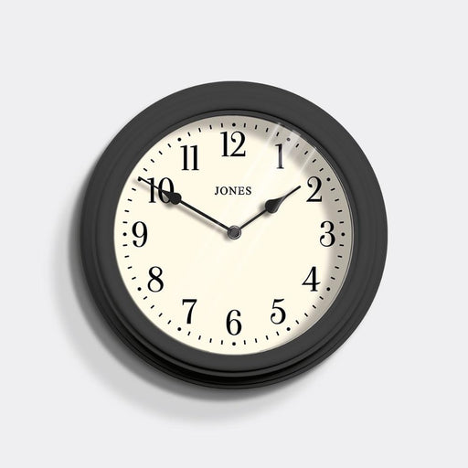 Medium Classic Wall Clock | Grey | Jones Clocks | Venetian 120