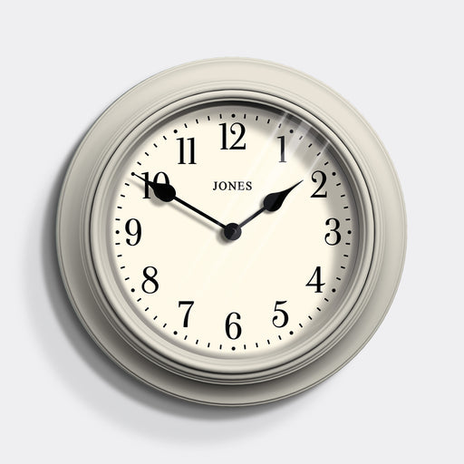 Large Classic Wall Clock | Cream | Jones Clocks | Supper Club 144
