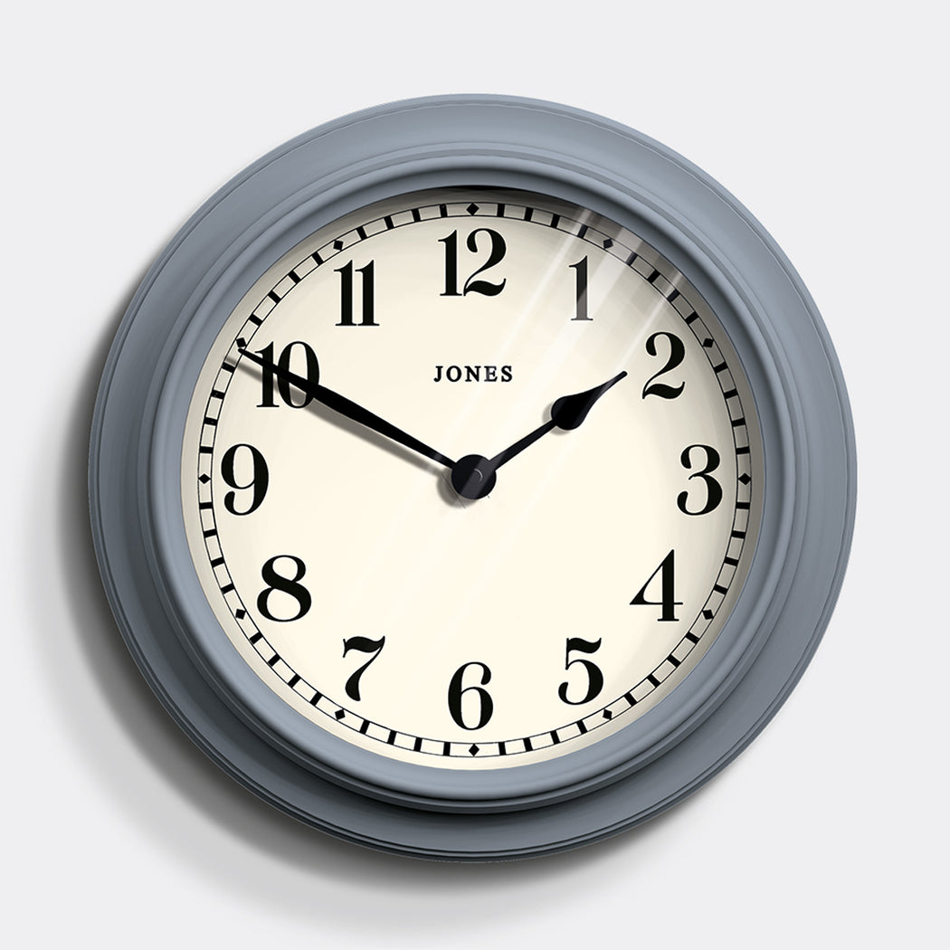 Large Classic Wall Clock | Blue | Jones Clocks | Opera House 122