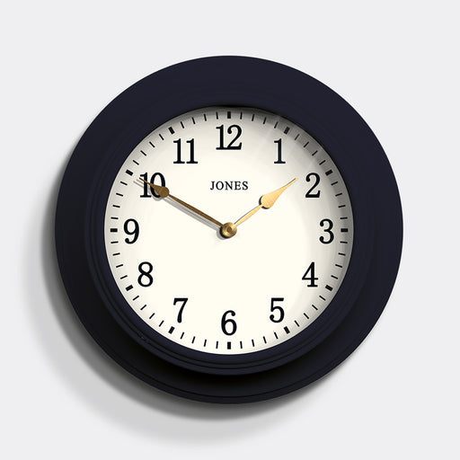 Large classic Wall Clock | Blue | Jones Clocks | Cocktail 118
