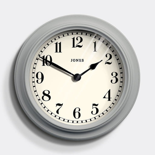 Large Classic Wall Clock | Grey | Jones Clocks | Opera House 122
