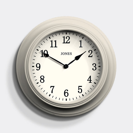 Large classic Wall Clock | cream | Jones Clocks | Cocktail 118