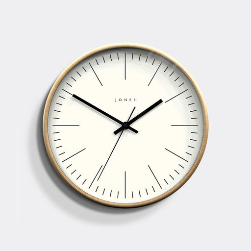 Medium Contemporary Wall Clock | Wood | Jones Clocks | Studio 102