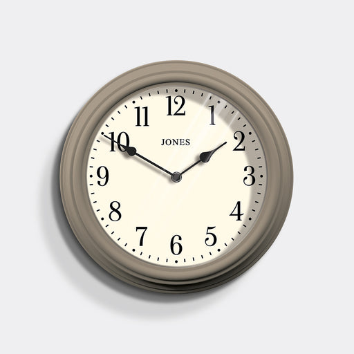 Medium Classic Wall Clock | Stone | Jones Clocks | Venetian 120