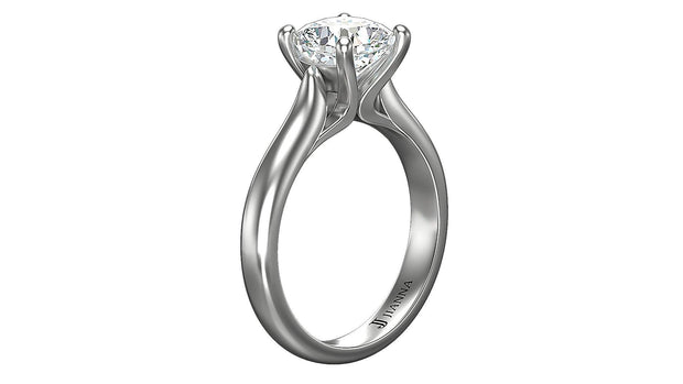 Cushion Diamond Engagement Ring (2.05ct t.w) in Platinum