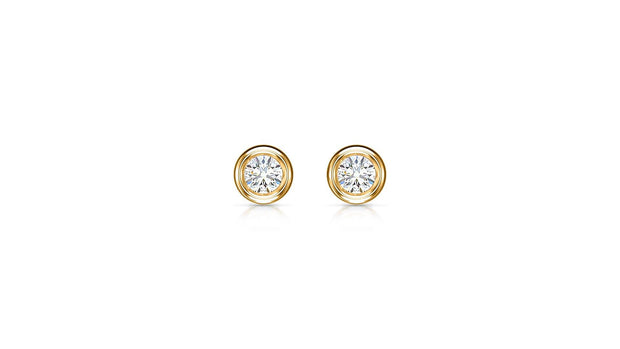 SOLITAIRE EARRINGS - Jianna Jewelers