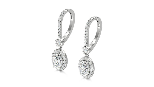 18KT DAIMOND EARRINGS