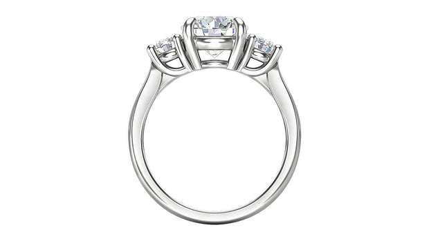 Diamond Three Stone Engagement Ring (3 ct. t.w.) in Platinum