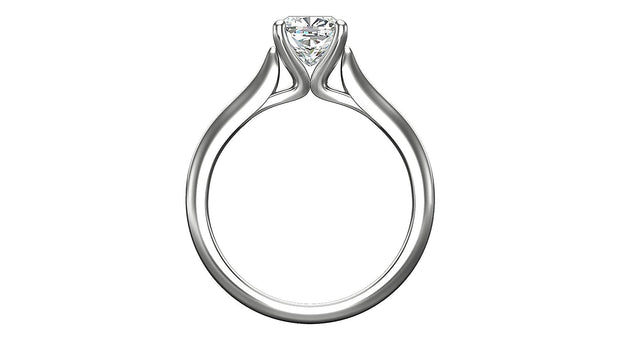 Cushion Diamond Engagement Ring (1.25ct t.w) in Platinum