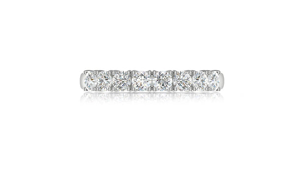 18kt diamond wedding ring