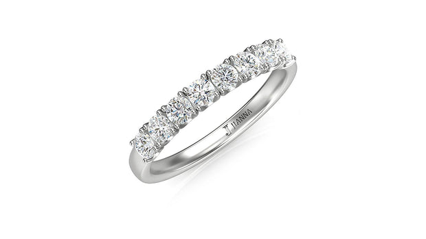 18kt diamond wedding ring - Jianna Jewelers