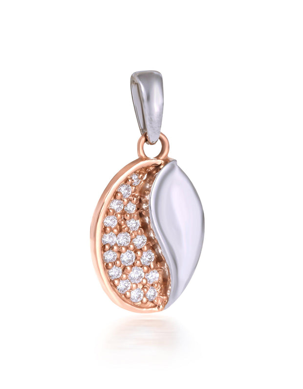 platinum diamond pendant - Jianna Jewelers