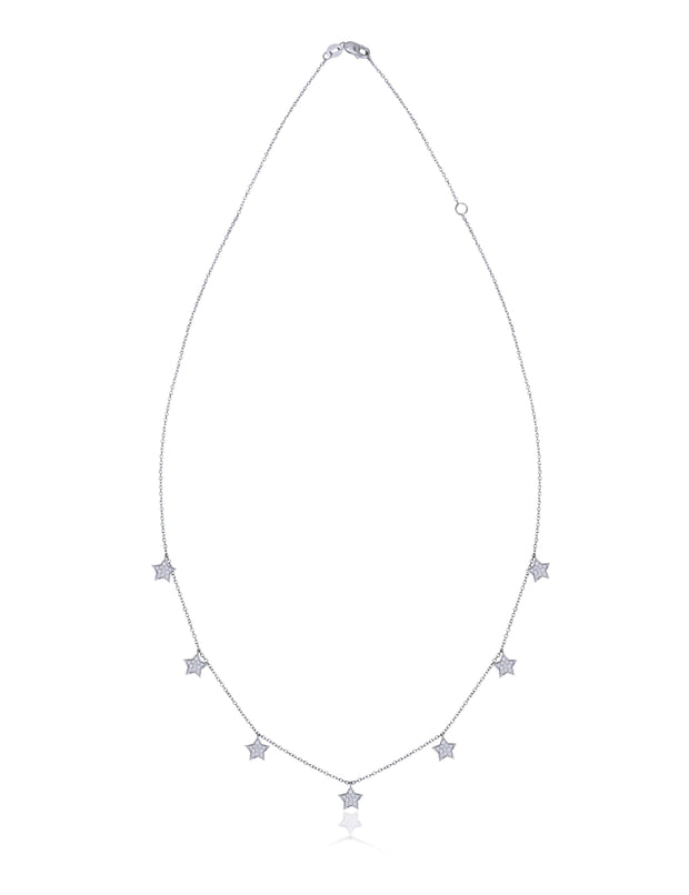 18kt diamond necklace