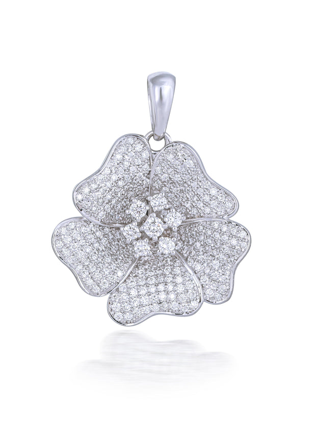 18kt diamond pendant - Jianna Jewelers