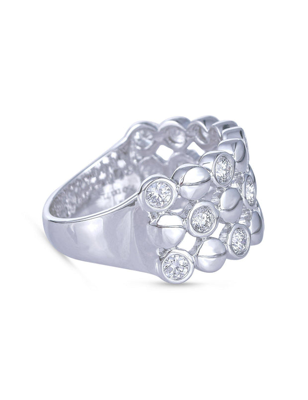 18kt diamond ring - Jianna Jewelers