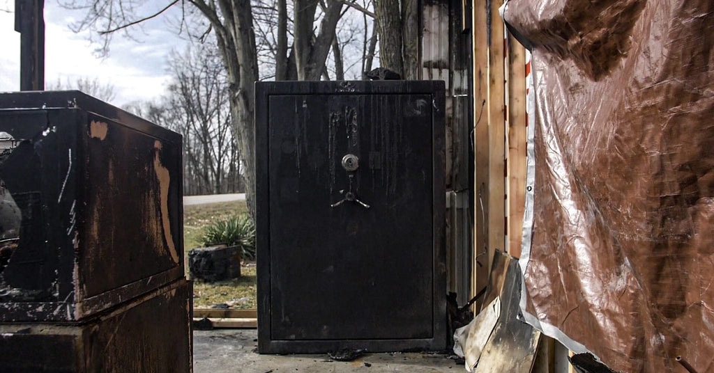 Gun safe after a fire