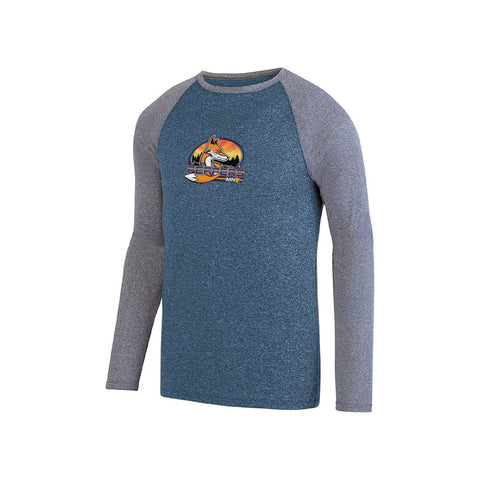 Aussie Peppers Men's Long Sleeve Raglan Tee