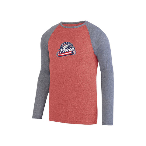 USSSA Pride Men's Long Sleeve Raglan Tee
