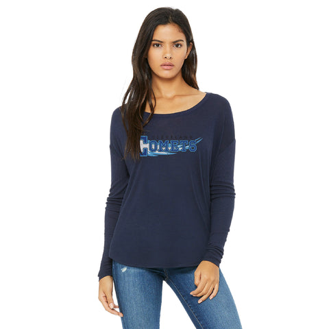 Cleveland Comets Women's Long Sleeve Tee