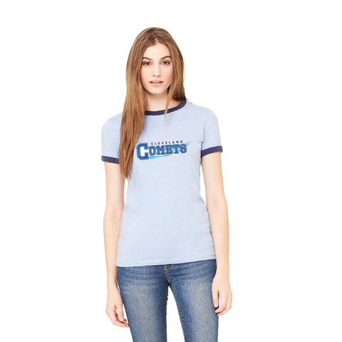 Cleveland Comets Women's Ringer Tee