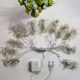 4.5M x 3M 300 LED Indoor/Outdoor Decorative String Fairy Curtain Garlands Strip Lights