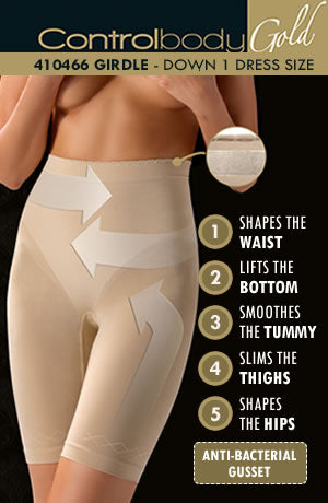 Control Body Shaping Girdle - Firm Support Various