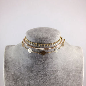 Rock chick choker sets