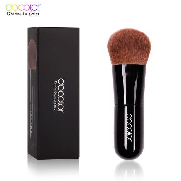 Kabuki Brush Soft Curved Bristles Powder Brush