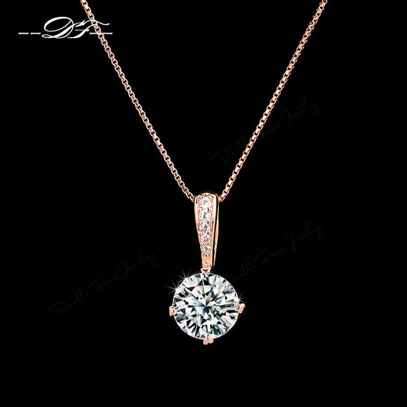 Diamante Pendant Chain
