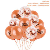 Balloons and decorations for hen and bridal parties